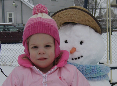 Kayla and the Snowman